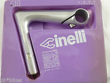 "Cinelli stem XA 130mm 26.4  22.2  Vintage Road Racing Bicycle  1"" quill NOS"