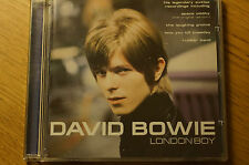 Rare David Bowie London Boy CD Album Case and Booklet Spectrum 18 Track Original