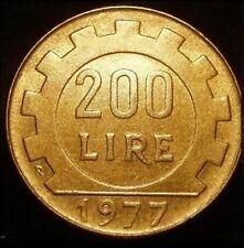 200 LIRE 1977 FIOR DI CONIO DA ROTOLINO