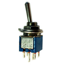 Sub Min. DPDT C/Off Toggle Switch ON/OFF/ON  SM203