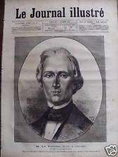 JOURNAL ILL 1877 N 41 M. LE VERRIER, de L'OBSERVATOIRE