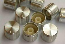 6p 21x17 SILVER Amplifier Test Volume Tone Control Knob