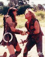 Xena Photo Club August 1999 Aug 99 photograph Xena stabs Iolaus