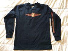 Vintage -Manchester United - Umbro 2002  - Sleeve Training Top - Size M