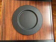 Set 6 Sottopiatti in Metallo Satinato Lagostina cm. 30 Colore Nero