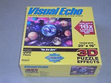 """Visual Echo 3D Effects Puzzle - Space/Planets- """"You Are Here"""" , 500 pieces - New"""