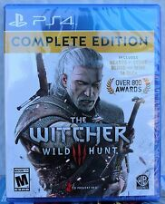 The Witcher 3 III Wild Hunt Complete Edition PS4 New PlayStation 4,Fast✈Ship/✍Tr