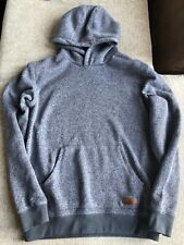 Men's QUICKSILVER Gray Hoodie Size Large Patch