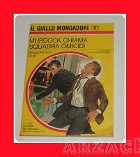 Gialli Mondadori 1127 MURDOCK CHIAMA SQUADRA.. Coxe '70