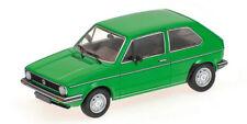 Véhicules miniatures verts MINICHAMPS en édition limitée
