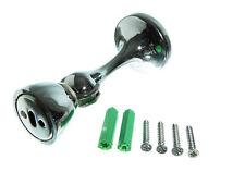 NUOVO Magnetico Supporto Porta Stop Fermo Chiusura Cromato Con Viti (PKT DI 10)