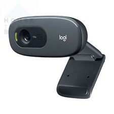 Logitech C270 HD Webcam, 720p/30fps, Widescreen Video Calling, Black