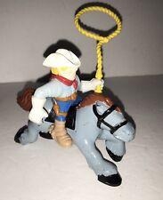 Fisher Price Great Adventure Western Horse w/ Cowboy Figure