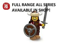 Lego hun warrior/attila the hun series 12 unopened new factory sealed