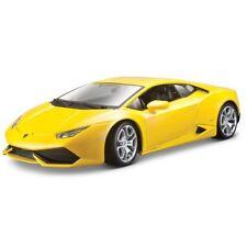 Modellini statici di auto, furgoni e camion giallo per Lamborghini Scala 1:18