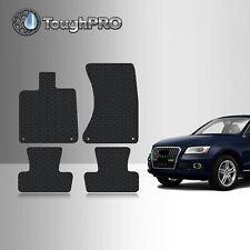 HD-Mart Car Floor Mat Rubber for Audi Q5 2017 2016 2015 2014 2013 2012 2011 2010 2009 Custom Fit Black//Navy Blue Auto Floor Mats All Weather Heavy Duty /& Odorless