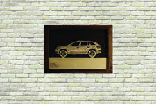 Car Wood Picture With Skoda Kodiak 3D Image Frame Home Office Wall Decor