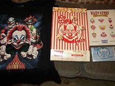 FRIGHT RAGS EXCLUSIVE KILLER KLOWNS FROM OUTER SPACE T-SHIRT + POPCORN BUDDLE XL