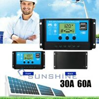 PWM Solar Charge Controller 30-60A Solar Charger Controller 12V/24V Solar Panel