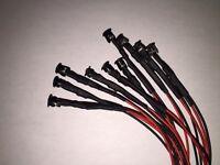 LED 5mm LEDs verkabelt 9V 12V 24V 15cm 30cm 60cm 120cm Kabel 5 mm Leuchtkappen