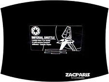 DISPLAY PLAQUE for Lego 10212 75094 Imperial Shuttle ,Models, etc Clear acrylic!