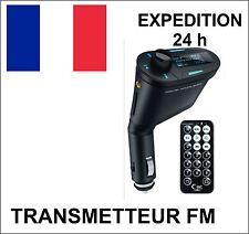 Voiture Kit MP3 Lecteur Sans Fil Radio FM Transmetteur USB SD MMC + Télécommande