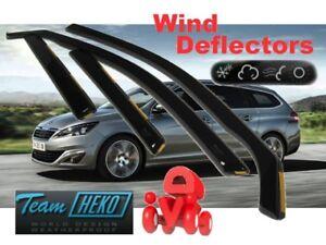 PEUGEOT 308 - II SW  5D 2014 - Wind deflectors  4.pc  HEKO  26155