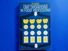 ## UNIT OPERATIONS IN FOOD PROCESSING - R L EARLE