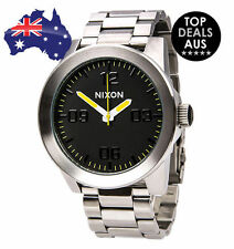 Nixon Stainless Steel 100 m (10 ATM) Wristwatches