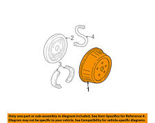 GM OEM Rear Brakes-Brake Drum 15230627