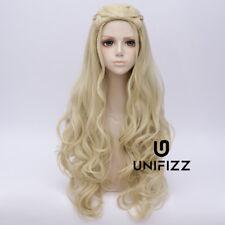 Women Daenerys Targaryen Dragon Princess Game of Thrones Long Blonde Ombre Wig