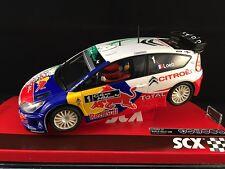 "A10117X3U0 SCX CITROEN C4 WRC RED BULL HYBRID LOEB 1:32 ""NEW"""