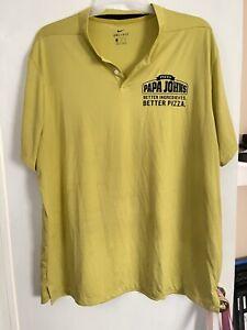 Papa Johns Polo Uniform Shirt Size 2XL
