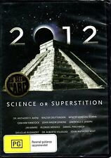 2012 Science Or Superstition DVD REGION FREE - BRAND NEW SEALED - FREE POST!