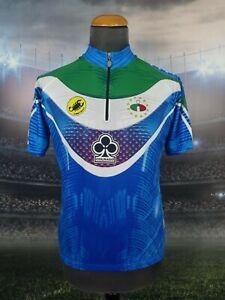 Castelli Cycling Jersey ITALIA Size XL Italy Short Sleeve Colnago