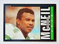 Freeman McNeil 1985 Topps #344 Football Card (New York Jets) VG