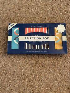 Seasalt Cornwall Men's Socks Gift Box Size 8-12 Four pairs.