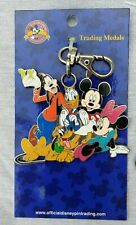 Disney * MICKEY & FRIENDS * New on Card Pin Trading Lanyard Medal