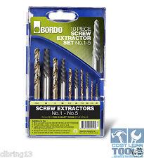 Bordo Screw Extractor Set With Drills - 9900-SM2