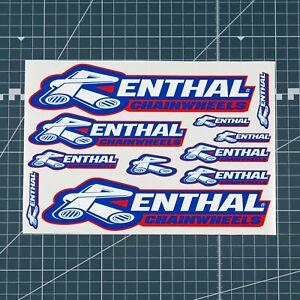 11 x Renthal Chainwheels Decals - Stickers Motorcross Enduro - SKU2001