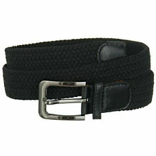"Premium Men's Braided Stretch Belts - Comfortable Golf Belt 1.5"" New Without Tag"