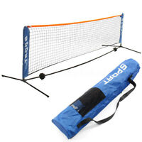 Portable Mini Tennis Badminton Net Volleyball Training Steel Frame Stand  !!