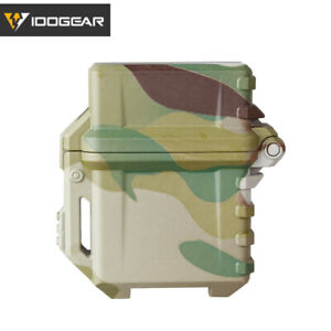 IDOGEAR Oil Lighter Shell for Inner Tank Anti-drop Lighter Armor Container Gear