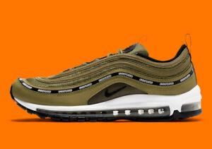 Nike Air Max 97 Undefeated Militia Green 2021 Size 11 Dead Stock (Rare)