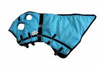 Winter Horse Blanket Rug Hood 1200D Heavy Weight Water Proof Turquoise