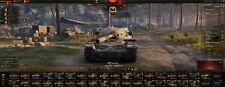Mundo de tanques cuenta 1966 WN8, 93 tanques, cuenta premium de 300+ días, etc.