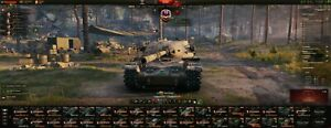 world of tanks account 1995 WN8, 125 tanks, 400+ days premium account, etc