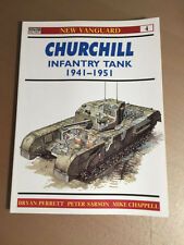 OSPREY NEW VANGUARD 4 - CHURCHILL INFANTRY TANK 1941-1951
