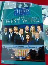 THE WEST WING ~ COMPLETE THIRD SEASON ~ 4 DVD SET ~ EXCELLENT CONDITION
