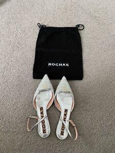 Rochas flat shoes size: us7.5